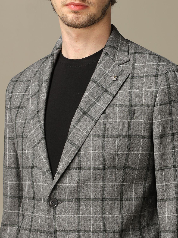 Jacket Alessandro Dell'acqua: Alessandro Dell'acqua virgin wool jacket grey 3