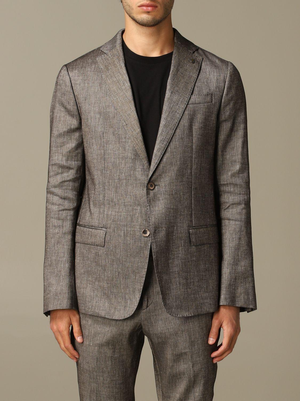 Куртка Alessandro Dell'acqua: Куртка Мужское Alessandro Dell'acqua коричневый 1