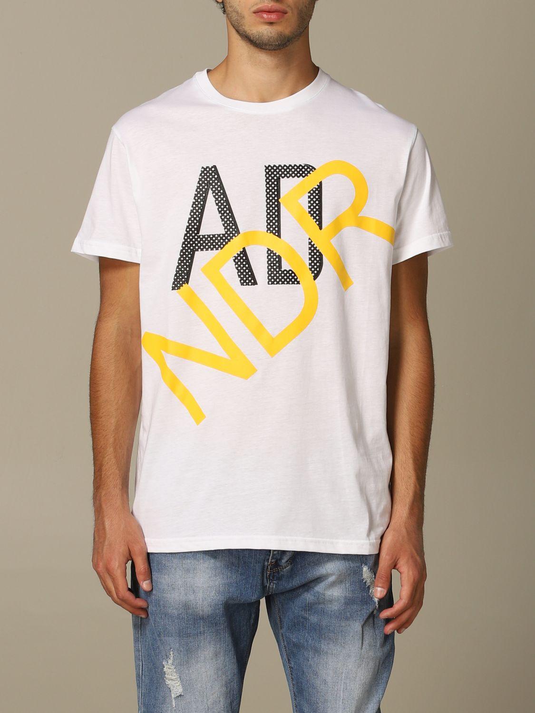 Sweater Alessandro Dell'acqua: Alessandro Dell'acqua t-shirt with logo white 1