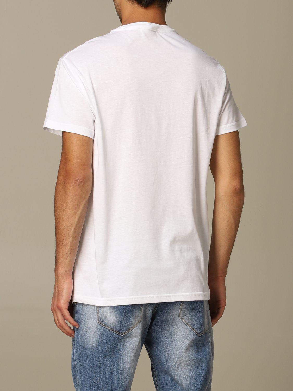 Sweater Alessandro Dell'acqua: Alessandro Dell'acqua t-shirt with logo white 2