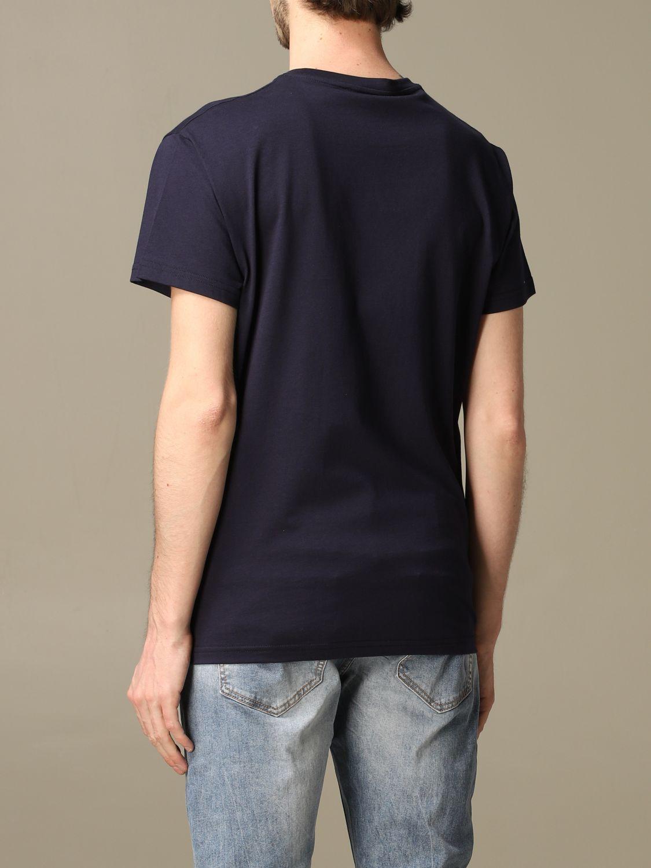 Maglia Alessandro Dell'acqua: T-shirt Alessandro Dell'acqua con logo blue 2