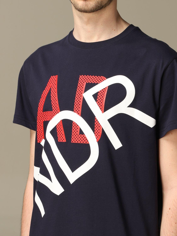 Maglia Alessandro Dell'acqua: T-shirt Alessandro Dell'acqua con logo blue 3
