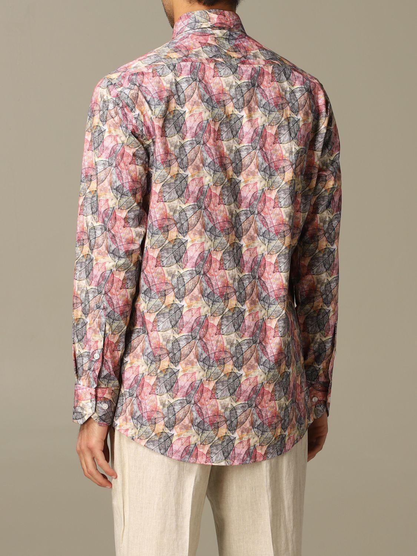 Рубашка Alessandro Dell'acqua: Рубашка Мужское Alessandro Dell'acqua бежевый 2