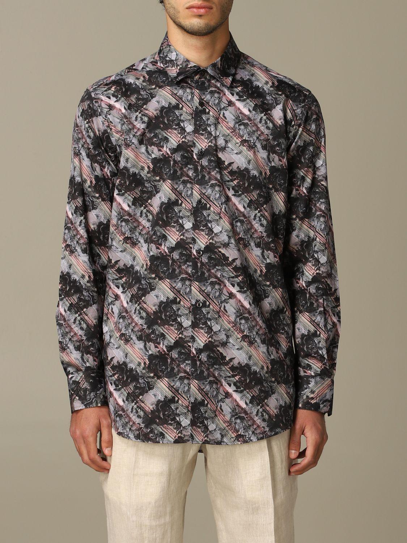 Рубашка Alessandro Dell'acqua: Рубашка Мужское Alessandro Dell'acqua черный 1