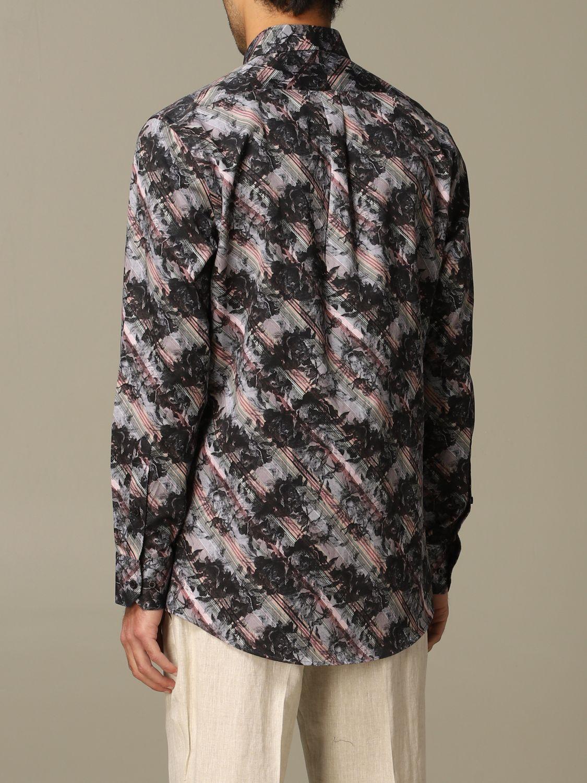 Рубашка Alessandro Dell'acqua: Рубашка Мужское Alessandro Dell'acqua черный 2