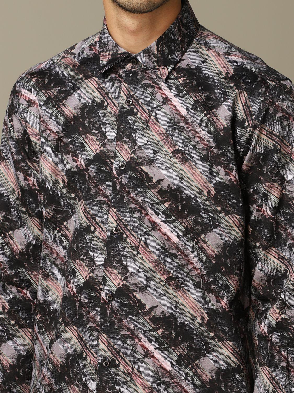Рубашка Alessandro Dell'acqua: Рубашка Мужское Alessandro Dell'acqua черный 3