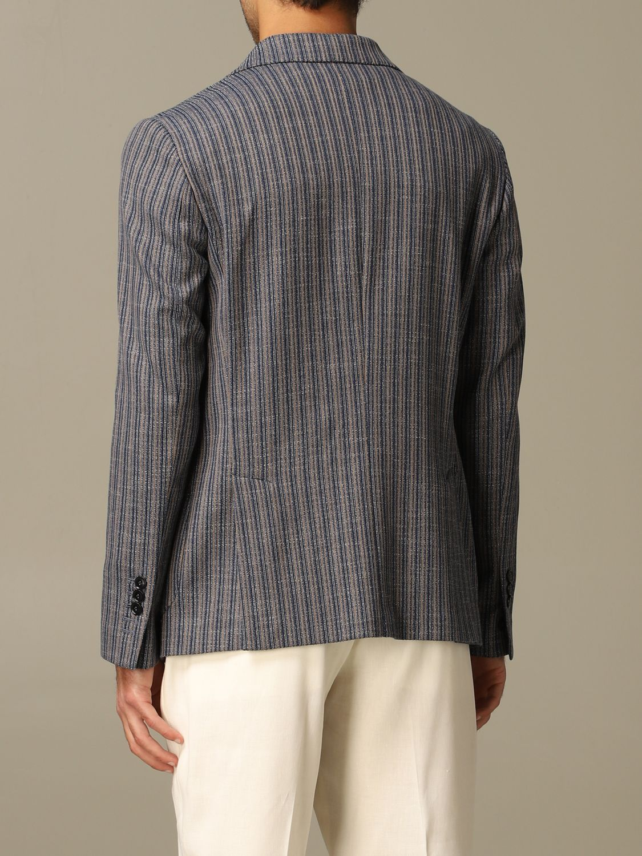 Jacket Alessandro Dell'acqua: Jacket men Alessandro Dell'acqua blue 2