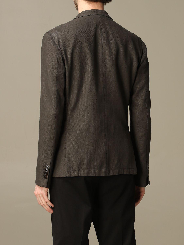 Куртка Alessandro Dell'acqua: Куртка Мужское Alessandro Dell'acqua коричневый 2