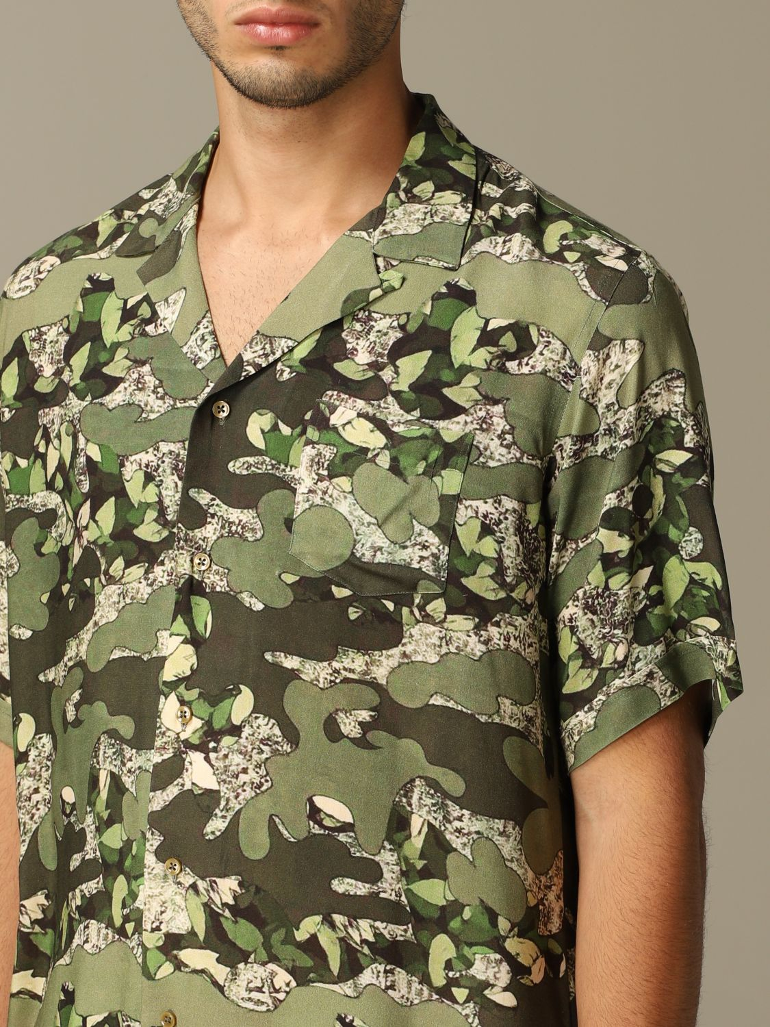 Shirt Alessandro Dell'acqua: Alessandro Dell'acqua printed shirt with short sleeves green 3