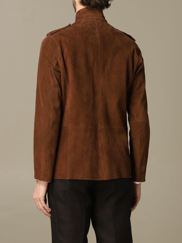 Куртка Alessandro Dell'acqua: Куртка Мужское Alessandro Dell'acqua темный капучино 2