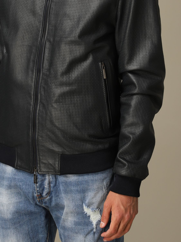 Jacket Alessandro Dell'acqua: Jacket men Alessandro Dell'acqua blue 3