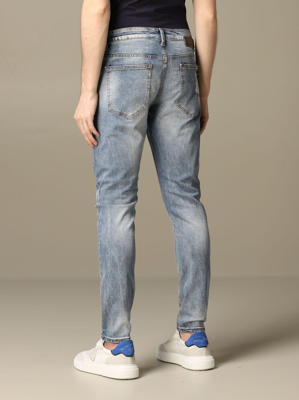 Jeans Alessandro Dell'acqua: Alessandro Dell'acqua jeans in used denim navy 2