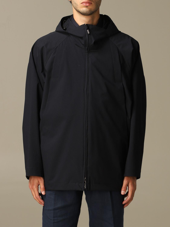 Jacket Alessandro Dell'acqua: Jacket men Alessandro Dell'acqua blue 1