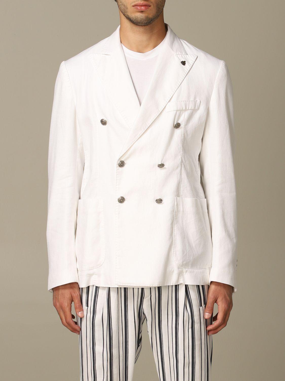 Куртка Alessandro Dell'acqua: Куртка Мужское Alessandro Dell'acqua белый 1