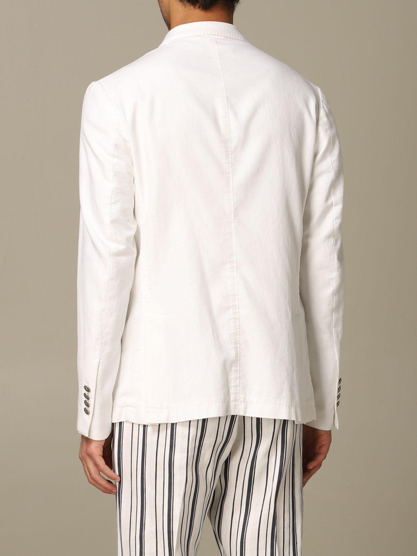 Куртка Alessandro Dell'acqua: Куртка Мужское Alessandro Dell'acqua белый 2