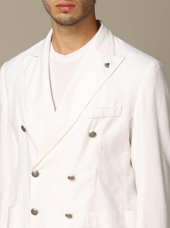Куртка Alessandro Dell'acqua: Куртка Мужское Alessandro Dell'acqua белый 3