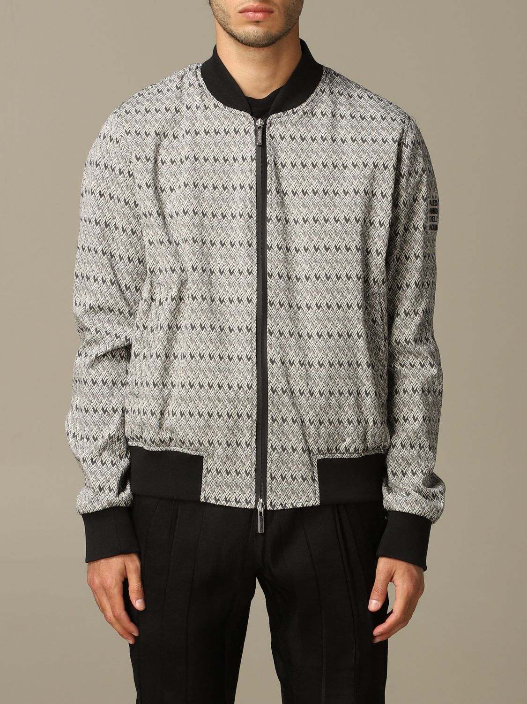 Jacket Alessandro Dell'acqua: Jacket men Alessandro Dell'acqua grey 1