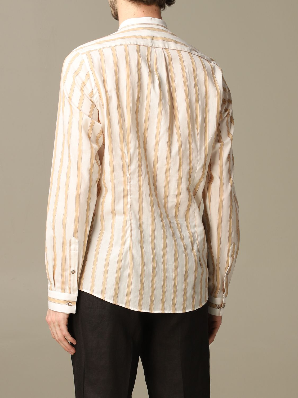 Shirt Alessandro Dell'acqua: Shirt men Alessandro Dell'acqua beige 2