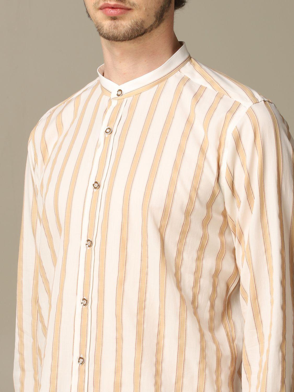 Shirt Alessandro Dell'acqua: Shirt men Alessandro Dell'acqua beige 3