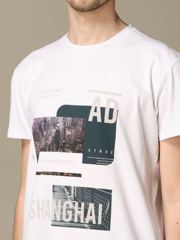 Pullover Alessandro Dell'acqua: Pullover herren Alessandro Dell'acqua weiß 3