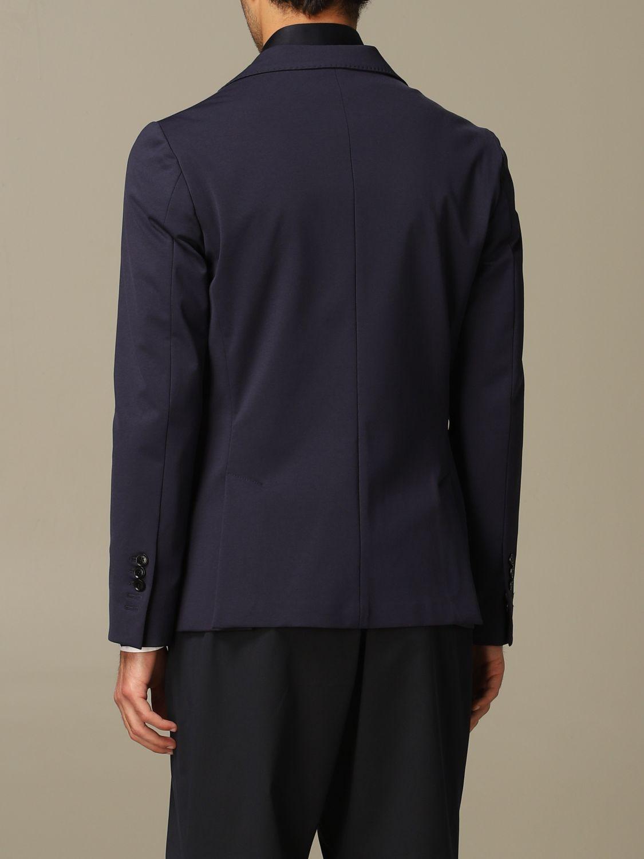 Jacket Alessandro Dell'acqua: Alessandro Dell'acqua single breasted jacket blue 2
