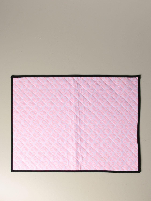 Accessori Palermo: Coprifornello Palermo con logo all over rosa 1