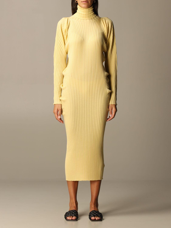 Dress Bottega Veneta: Short women Bottega Veneta yellow 1