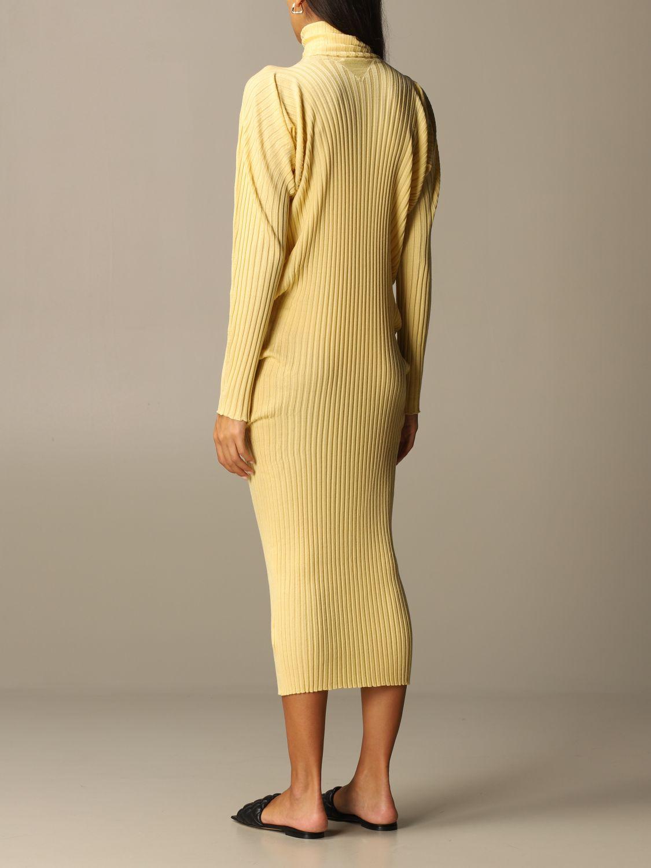 Dress Bottega Veneta: Short women Bottega Veneta yellow 3