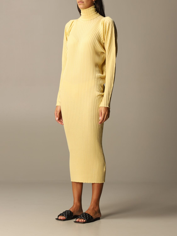Dress Bottega Veneta: Short women Bottega Veneta yellow 4