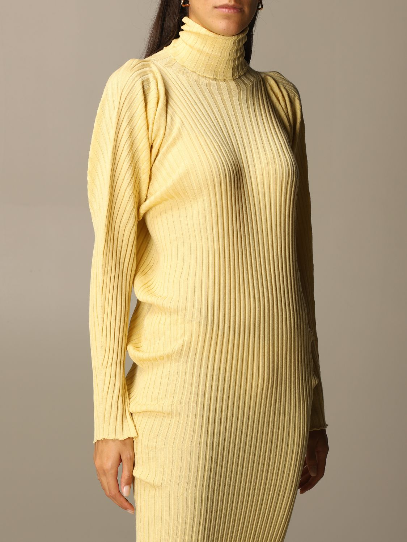 Dress Bottega Veneta: Short women Bottega Veneta yellow 5
