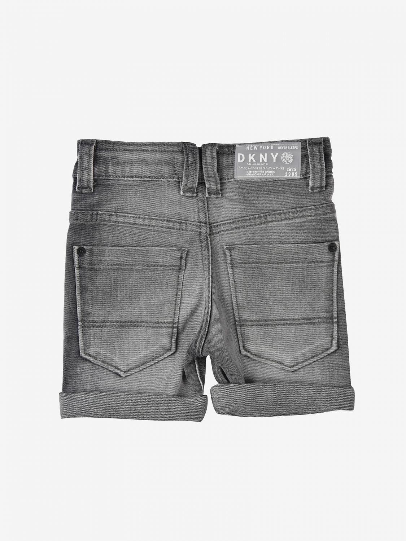 Pantaloncino Dkny: Pantaloncino di jeans Dkny grigio 2