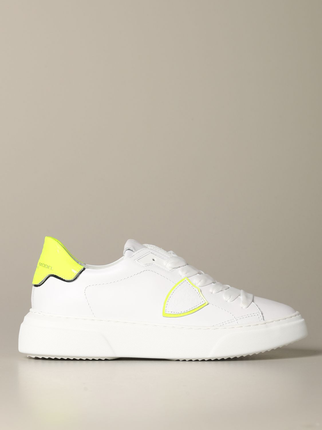 Sneakers Philippe Model: Shoes women Philippe Model white 1
