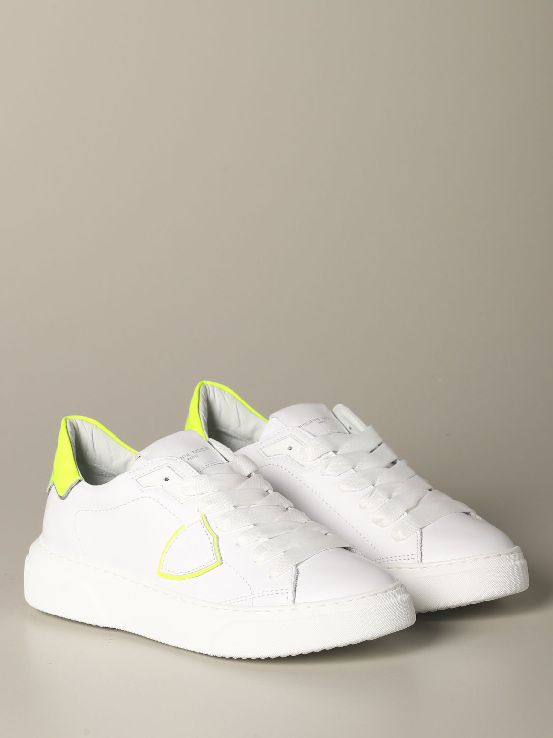 Sneakers Philippe Model: Shoes women Philippe Model white 2