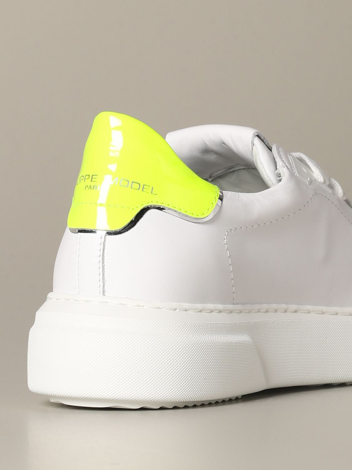 Sneakers Philippe Model: Shoes women Philippe Model white 3