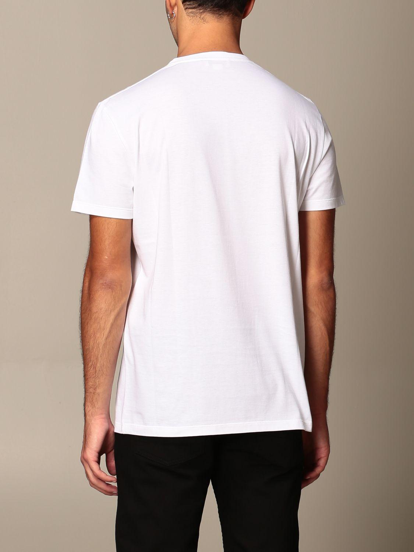 T-shirt Alexander Mcqueen: T-shirt men Alexander Mcqueen white 3
