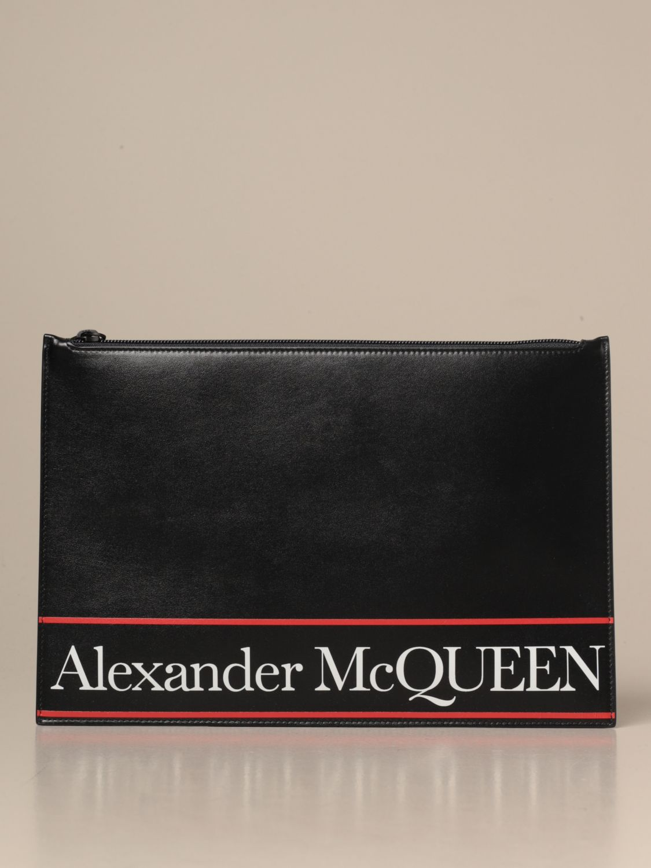 Porte-document Alexander Mcqueen: Porte-document homme Alexander Mcqueen noir 1
