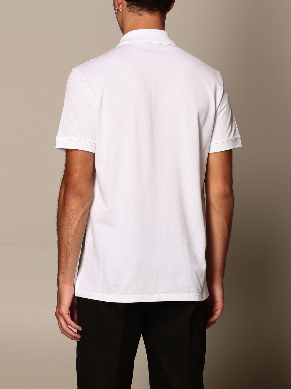 T-shirt Alexander Mcqueen: Polo Alexander McQueen in cotone con logo bianco 3