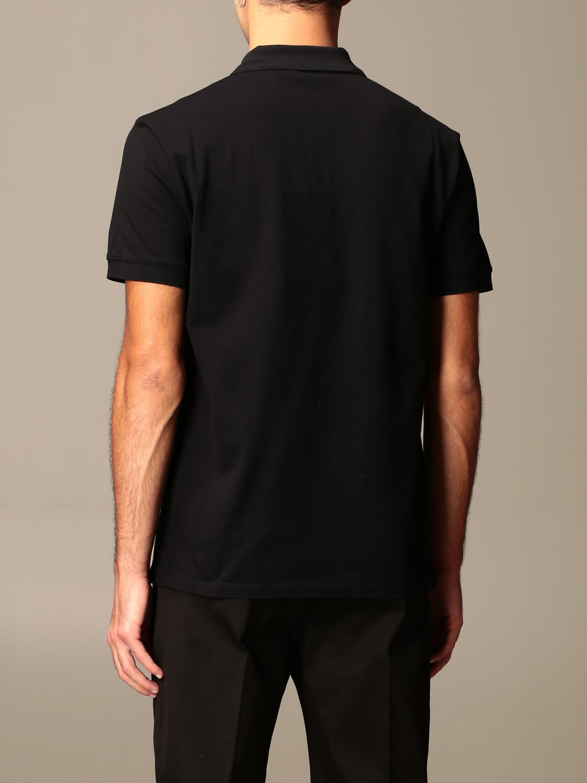 T-shirt Alexander Mcqueen: Alexander McQueen polo shirt in cotton with logo black 3