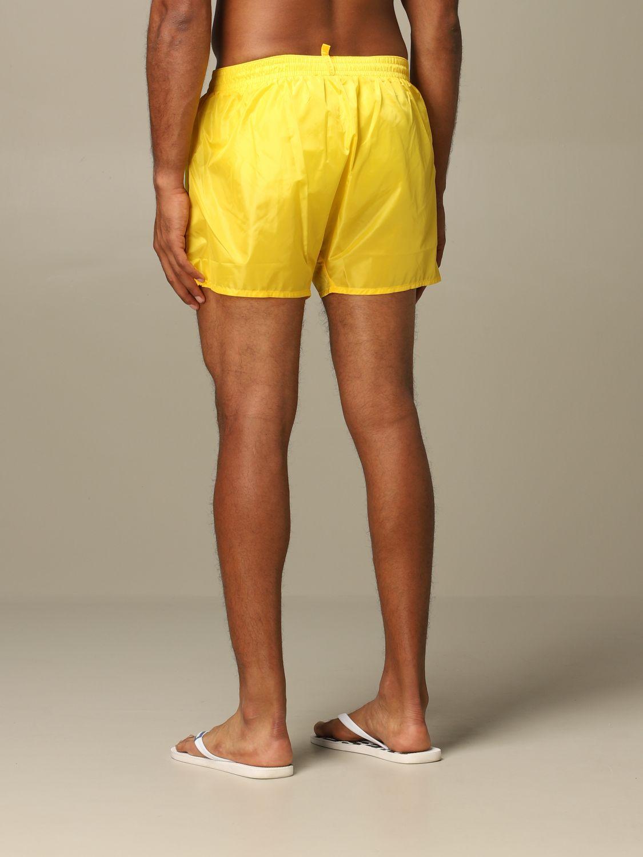 Swimsuit Dsquared2: Dsquared2 nylon swimsuit yellow 2