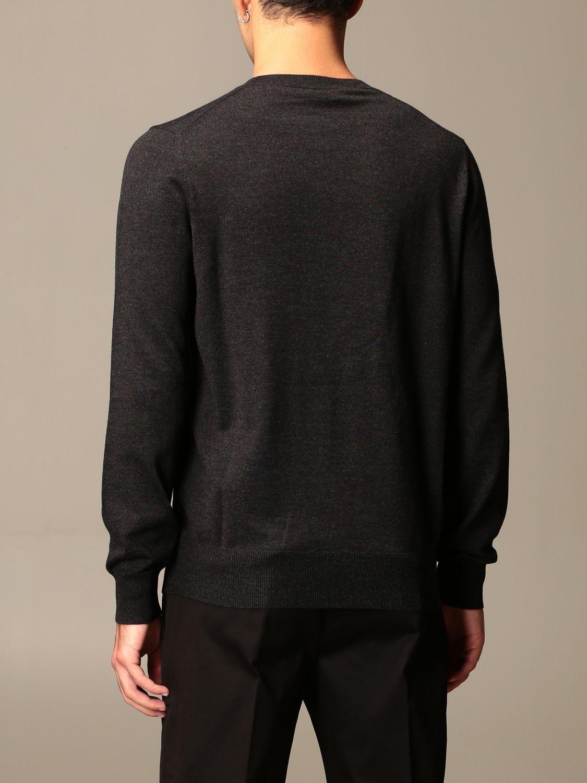 Sweater Alexander Mcqueen: Alexander McQueen sweater in wool with skull silver 3