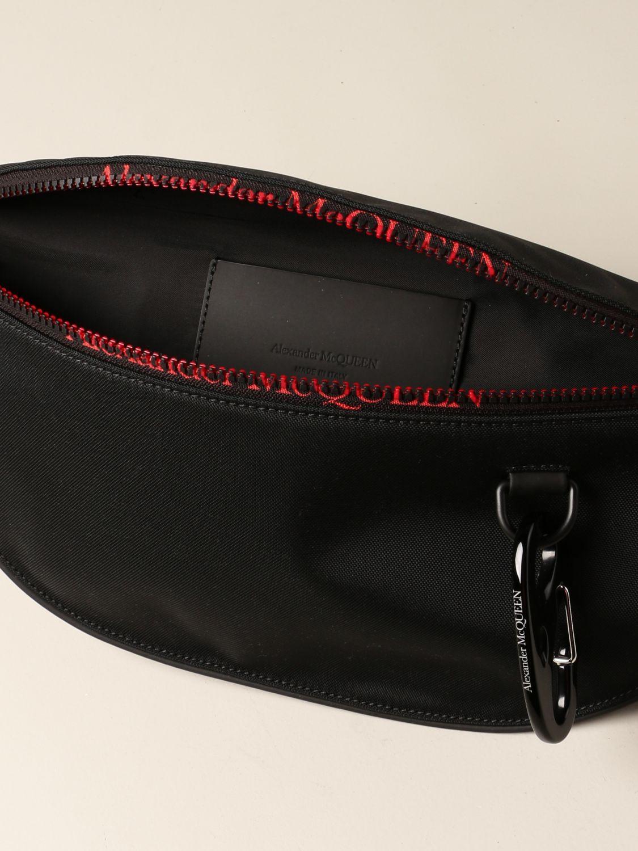 Belt bag Alexander Mcqueen: Belt bag men Alexander Mcqueen black 5