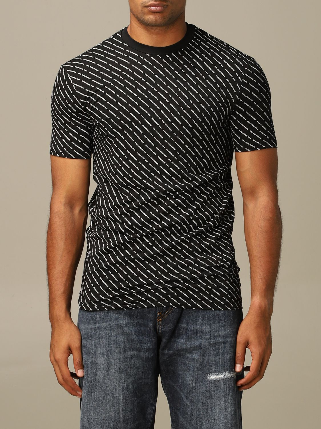 Jersey Dsquared2: Jersey hombre Dsquared2 negro 1