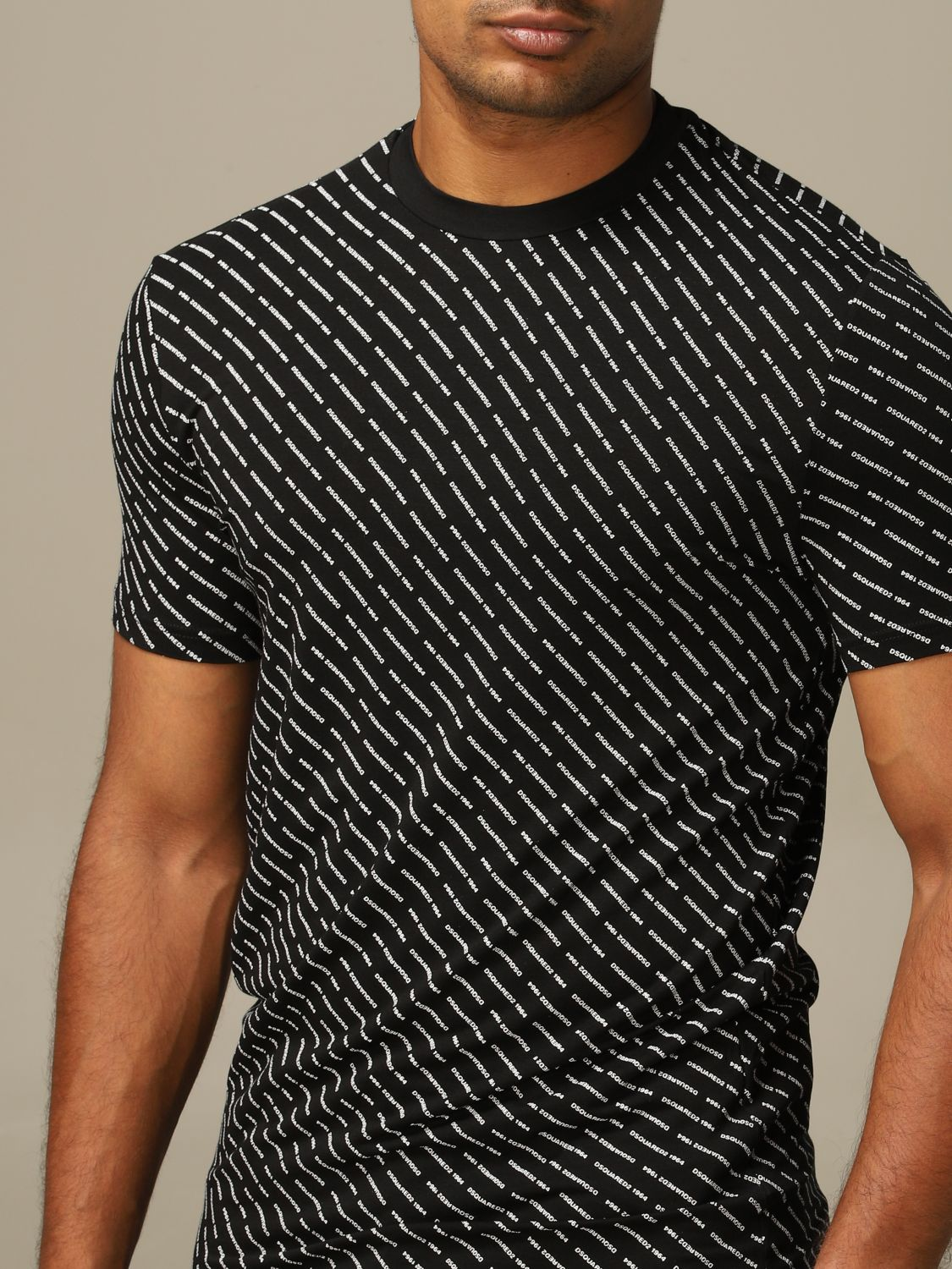 Jersey Dsquared2: Jersey hombre Dsquared2 negro 3