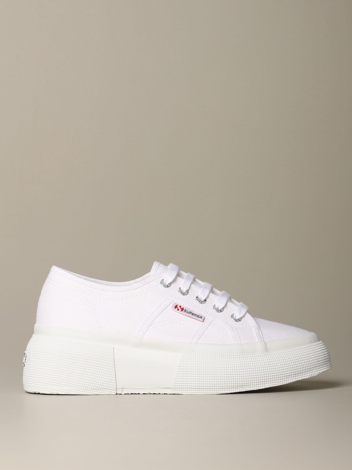 Sneakers Superga: Shoes women Superga white 1