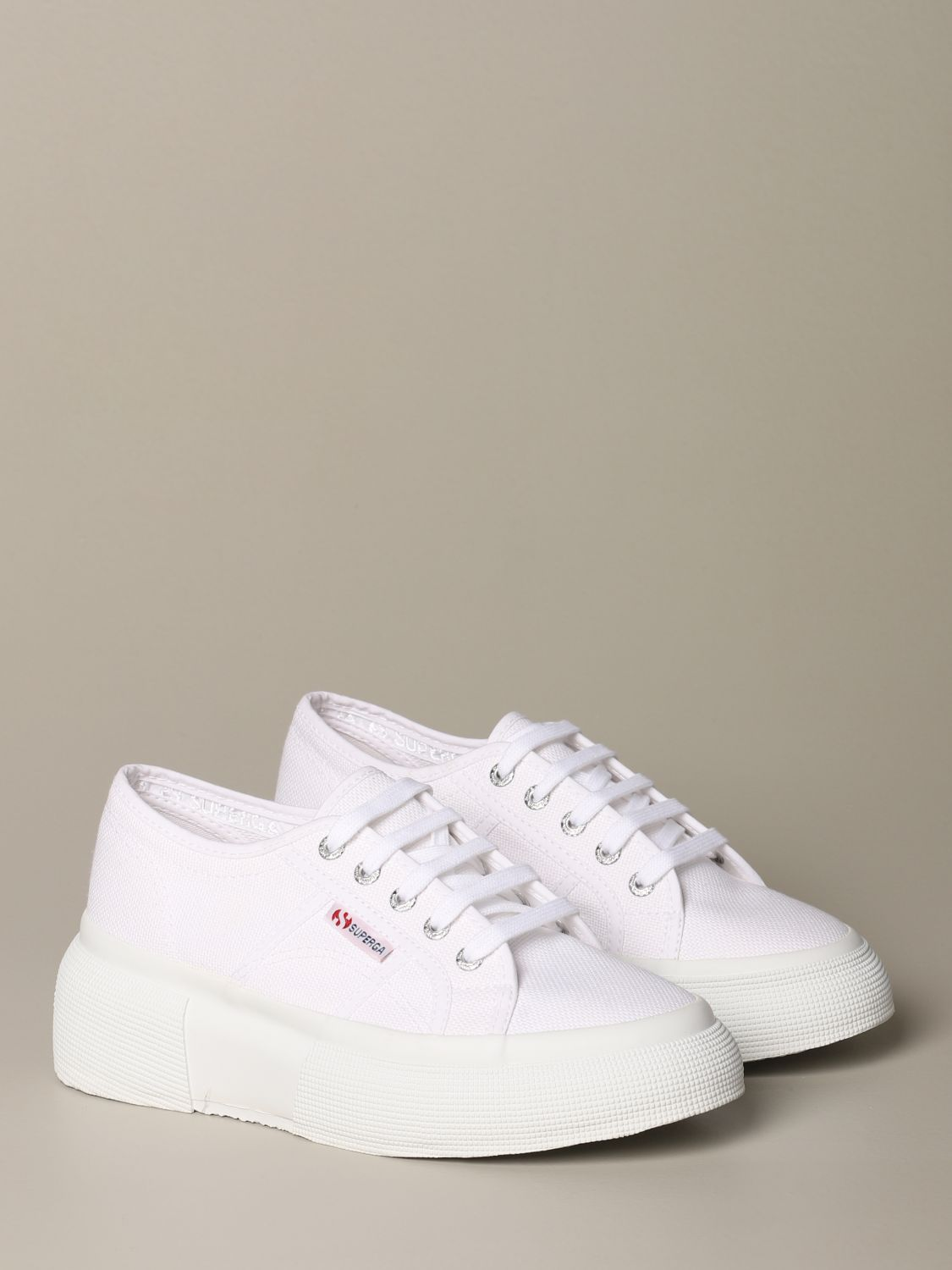 Sneakers Superga: Shoes women Superga white 2