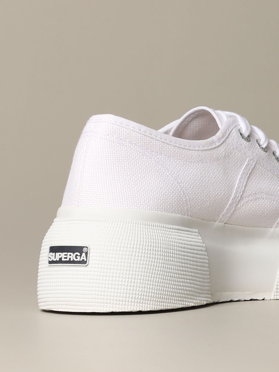 Sneakers Superga: Shoes women Superga white 3