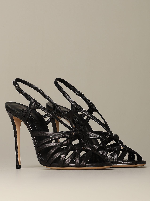 Heeled sandals Casadei: Shoes women Casadei black 2