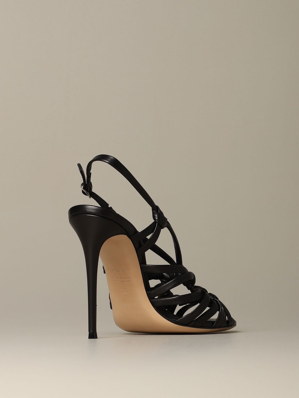 Heeled sandals Casadei: Shoes women Casadei black 3