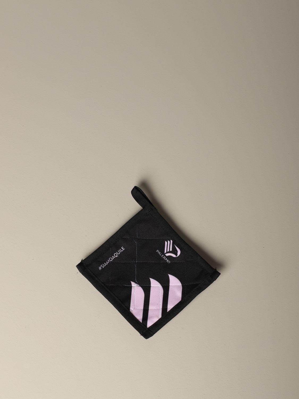 Accessori Palermo: Presina Palermo con logo nero 1