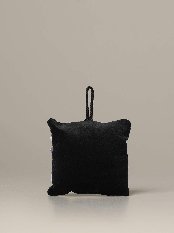 Accessori Palermo: Cuscino Palermo con stemma aquila nero 2